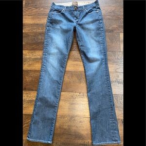 Rich & Skinny Straight Leg Jeans Sterling sz 29